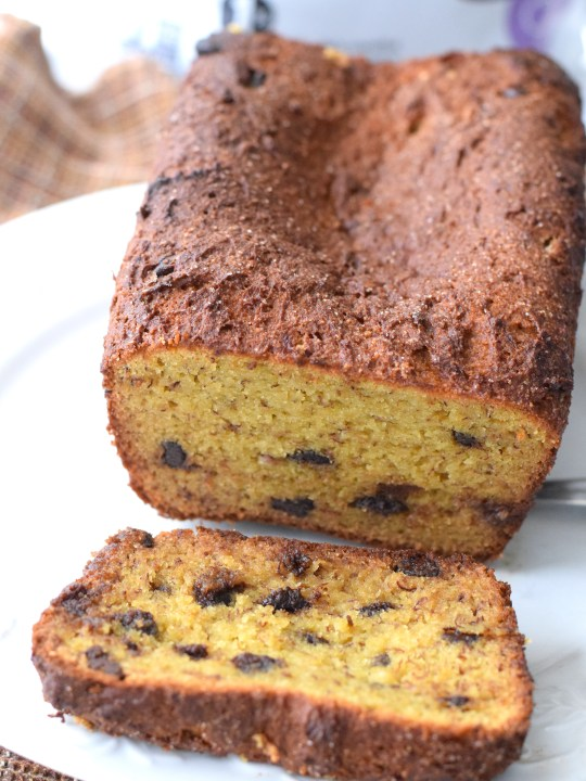 Keto Low Carb Banana Bread Recipe