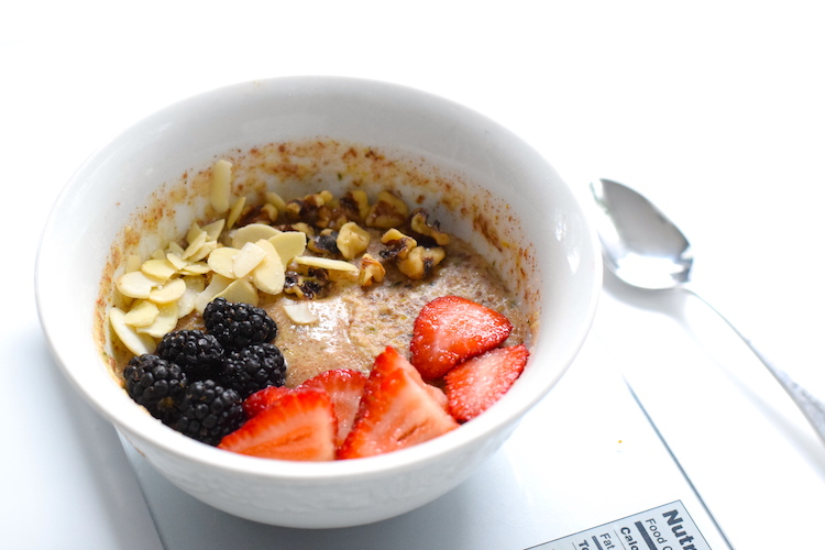 low carb oatmeal recipe