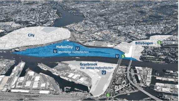 HAMBOURG : HAFENCITY et HANOVRE :WASSERSTADT LIMMER