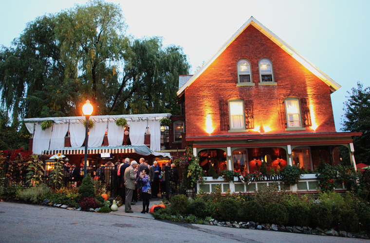 The Mouzon House, a Saratoga Springs NY Farm to Table Restaurant