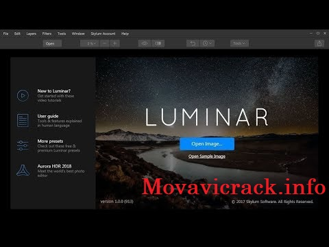 Luminar 2020 Crack Activation Key Free Download
