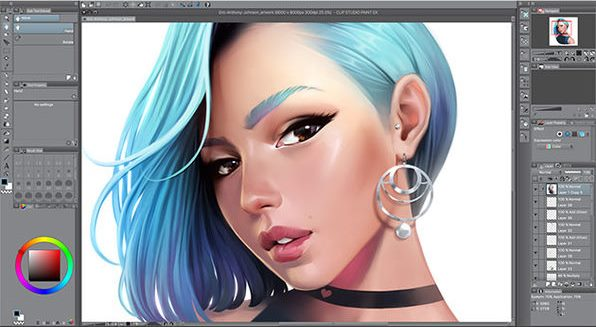 Clip Studio Paint EX 1.10.6 Crack + Keygen Torrent (2021)