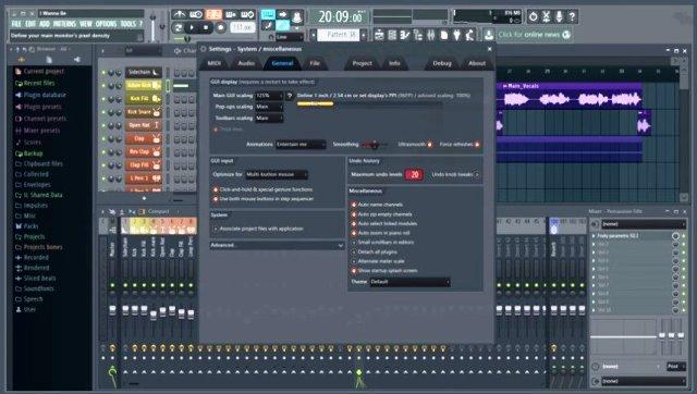 FL Studio 20.6.0 Crack With Keygen Full Torrent 2020 [Win/Mac]