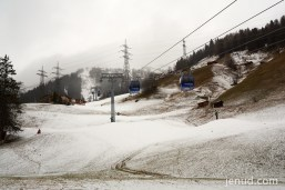 Noch etwas wenig Schnee