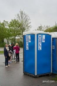 Ausreichend WCs