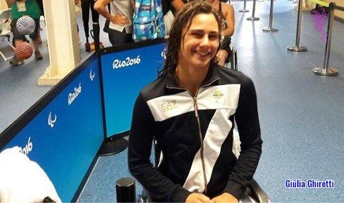 Paralimpiadi di Rio - Giulia Ghiretti
