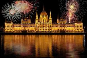 Budapest - Parliament by night