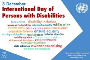 Giornata mondiale della disabilità 2016