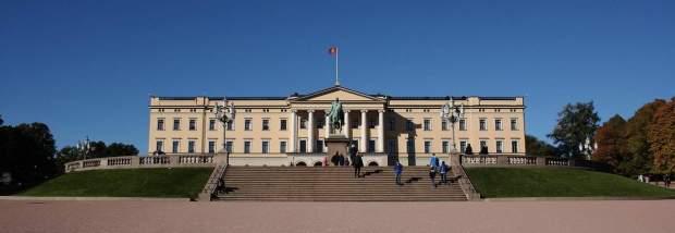 Norvegia - Palazzo Reale a Oslo