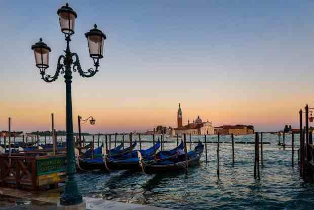 Venezia - gondole