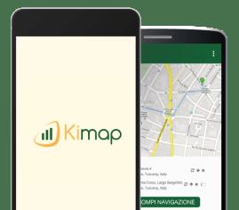 Kimap - app per smartphone