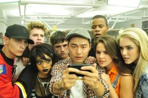 "Shanley Caswell and Josh Hutcherson in Joseph Kahn's ""Detention"""