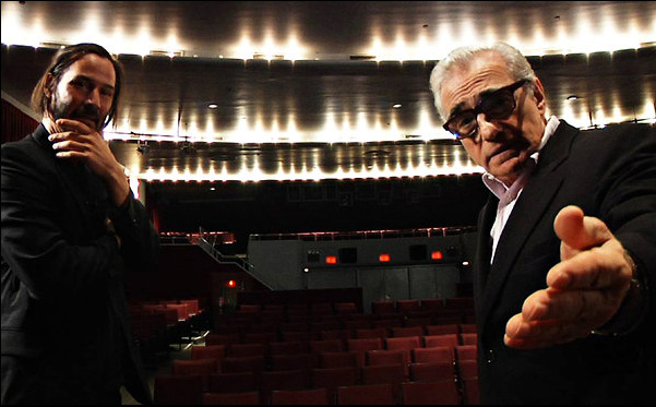 "Keanu Reeves and Martin Scorsese in ""Side by Side"""
