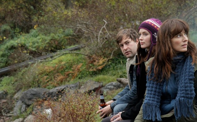 """Mark Duplass, Emily Blunt and Rosemarie DeWitt in """"Your Sister's Sister"""""""