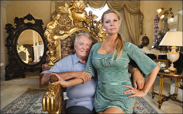 David and Jackie Siegel in Lauren Greenfield's film The Queen of Versailles