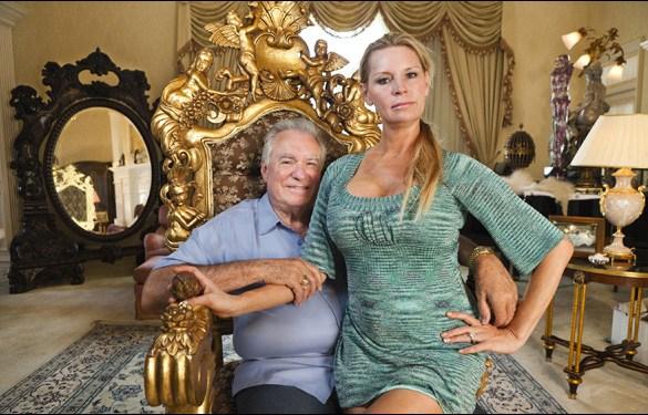 David and Jackie Siegel in Lauren Greenfield's film The Queen of Versailles