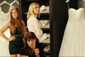 "Isla Fisher, Kirsten Dunst and Lizzy Caplan in Leslye Headland's film ""Bachelorette"""