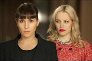 "Noomi Rapace and Rachel McAdams in Brian DePalma's ""Passion"""