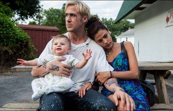 "Ryan Gosling and Eva Mendes in Derek Cianfrance's ""The Place Beyond the Pines"""