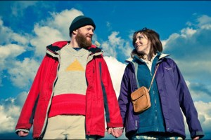 "Steve Oram and Alice Lowe in Ben Wheatley's film ""Sightseers"""