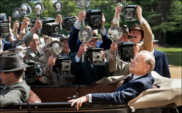 "Bill Murray as FDR in Roger Michell's ""Hyde Park on Hudson"""