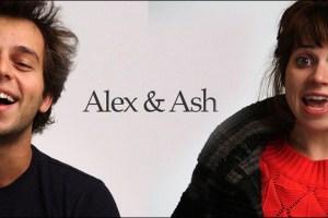 Ashley Rae Spillers and Alex Dobrenko in Steve Mims' film Alex & Ash