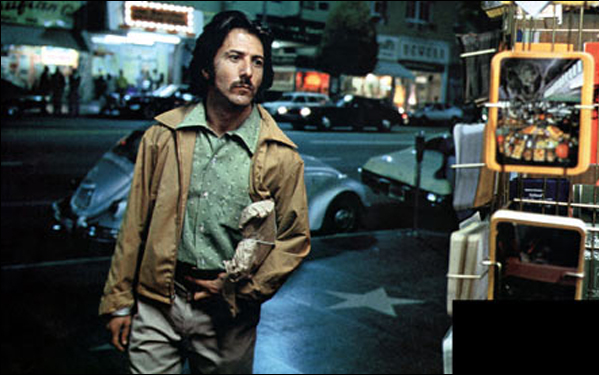Dustin Hoffman in Ulu Grosbard's film Straight Time