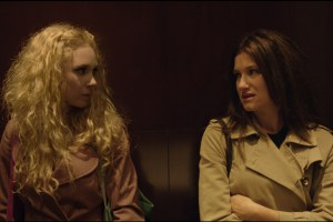 Juno Temple and Kathryn Hahn in Jill Soloway's film Afternoon Delight