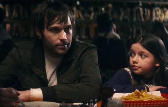 Shawn Christensen and Fatima Ptacek in the short film Curfew