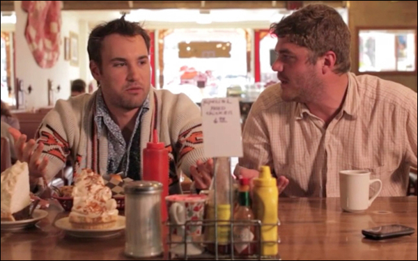 Alex Rennie and James Pumphrey in Todd Sklar's movie Awful Nice