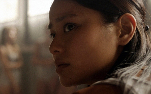Jamie Chung as Chong Kim in a scene from Megan Griffiths' film Eden.