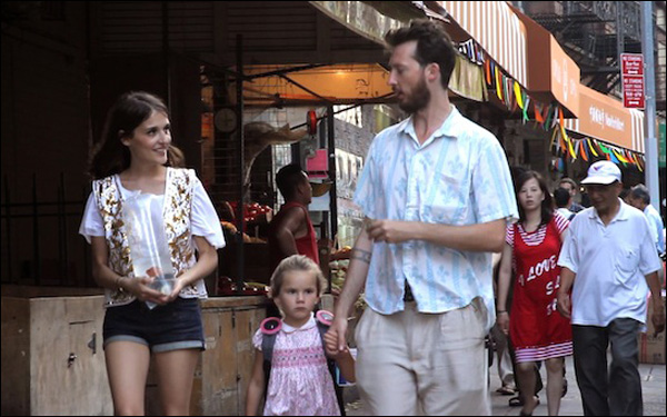 Lola Bessis and Dustin Guy Defa in Ruben Amar's film Swim Little Fish Swim