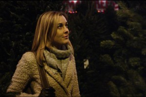 Anna Margaret Hollyman in a scene from Zach Clark's Christmas movie White Reindeer