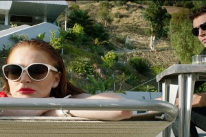 "Lindsay Lohan and James Deen in ""The Canyons"""