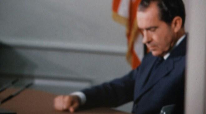 "Richard Nixon in Penny Lane's ""Our Nixon"""