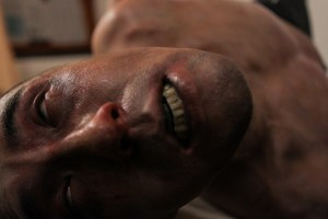 "Derek Lee in ""Afflicted"""