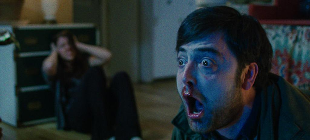 "Graham Skipper in Joe Begos' ""Almost Human"""