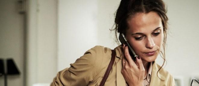 Alicia Vikander in Lisa Langseth's film Hotell