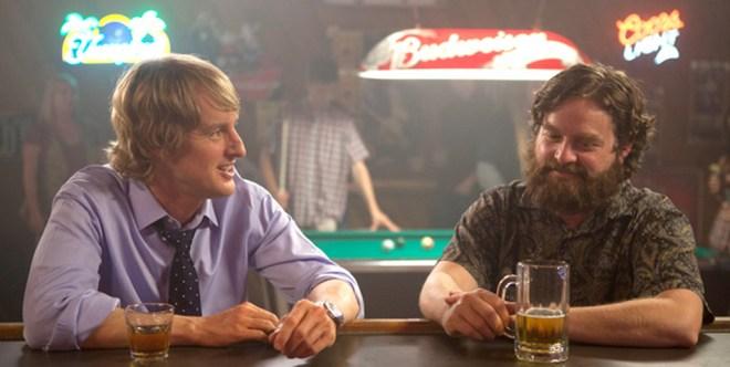 """Owen Wilson and Zach Galifianakis in Matthew Weiner's """"You Are Here"""""""