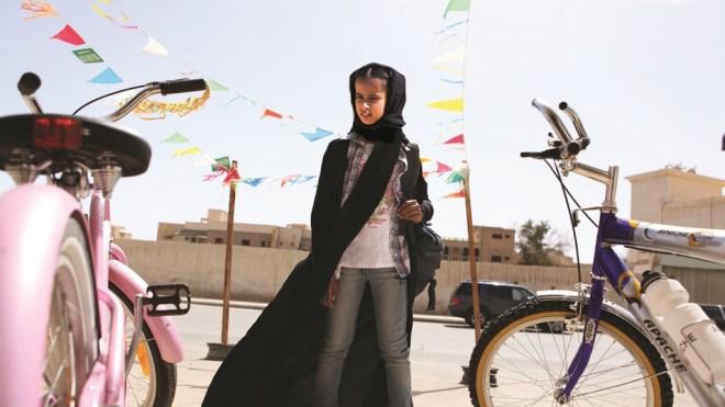 """Waad Mohammed in Haifaa Al-Mansour's """"Wadjda"""""""