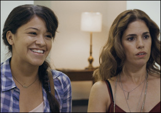 "Ana Ortiz and Gina Rodriguez in ""Sleeping With the Fishes"""