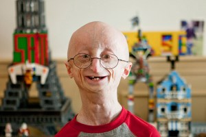 "Sam Berns in Andrea Nix Fine and Sean Fine's ""Life According to Sam"""
