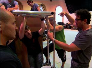 "Michael Mayer directing ""American Idiot"" in Doug Hamilton's ""Broadway Idiot"""