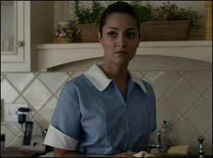 "Paula Garces in Michael Walker's film ""The Maid's Room"""