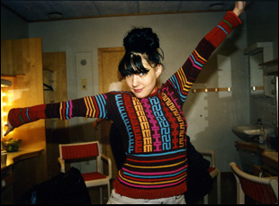 "Kathleen Hanna in ""The Punk Singer"""