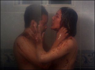 "Francisco Barreiro and Laura Caro in ""Here Comes the Devil"""
