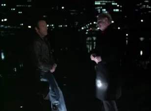"James Caan and Robert Prosky in ""Thief"""