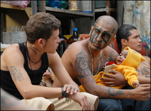 "Edgar Flores and Kristyan Ferrer in ""Sin Nombre"""