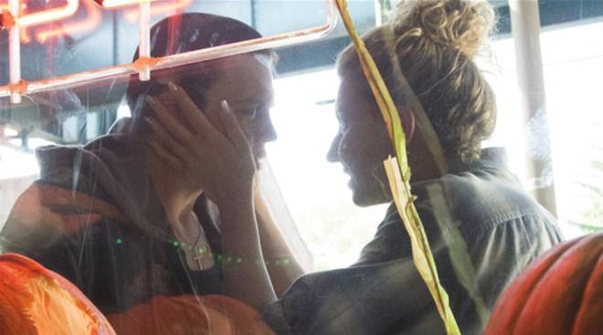 "Michael Pitt and Nina Arianda in ""Rob the Mob"""