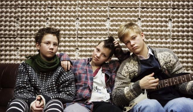 "Mira Barkhammar, Mira Grosin, Liv Lemoyne in ""We Are the Best"""